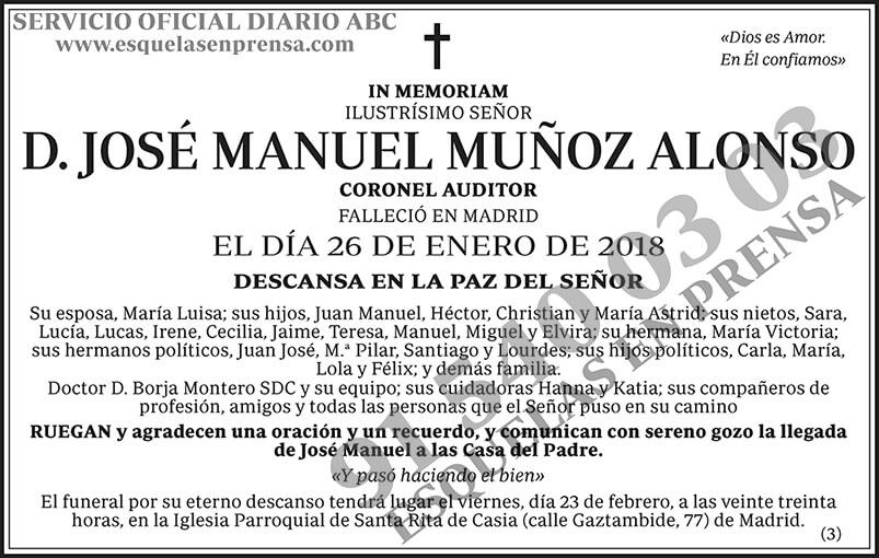 José Manuel Muñoz Alonso